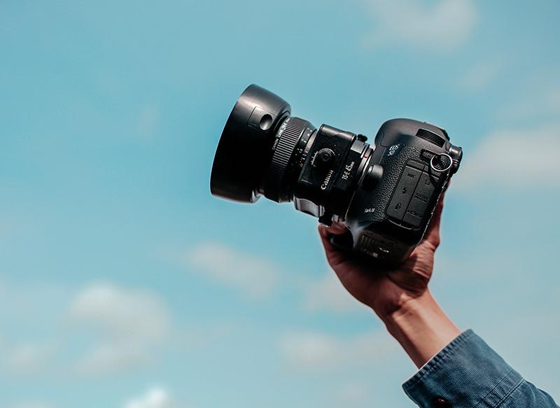 cumshot kamera objektiv